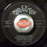 "45RE ✦ ROBERT WILLIAMS & THE GROVERS ✦ ""Loud Mufflers / Cranberry Blues"""